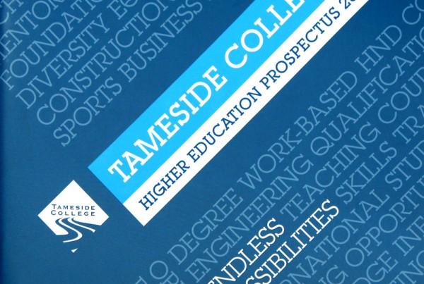 Tameside College Higher Education Prospectus