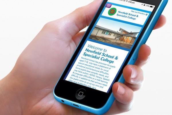 Newfield Primary School & Specialist College Responsive Website Design