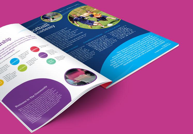 Academy Prospectus Design and Print - Design for Schools