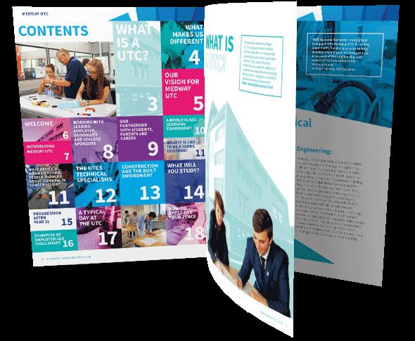 Design For Schools: College Prospectus Design And Print