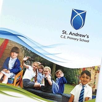 Primary Prospectus Design For Schools