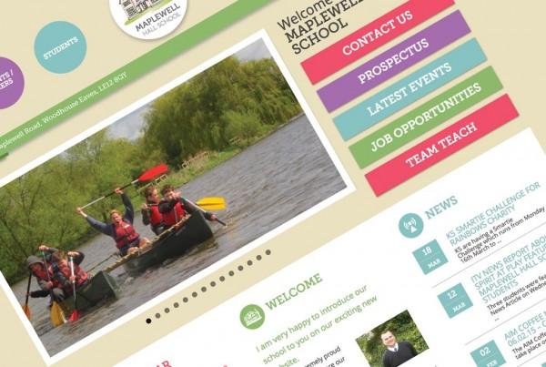 Maplewell Hall Primary School Responsive Website Design