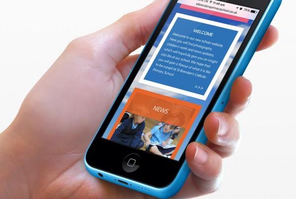 St Brendans Primary School Responsive Website Design