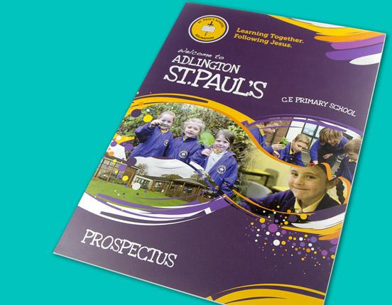 School Prospectus Design For Schools