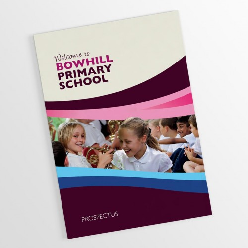 Bowhill Primary School Prospectus Design