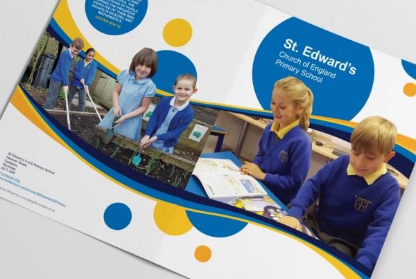 St Edwards Primary School Prospectus Design