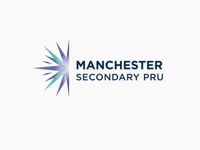 mspru secondary school logo design