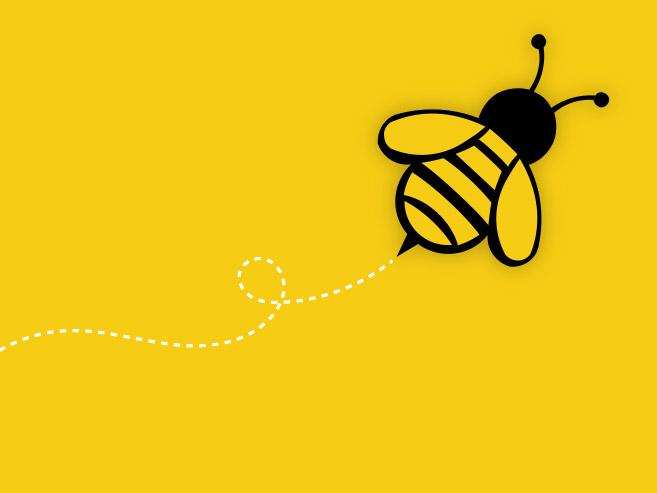 Visual of school bee illustration