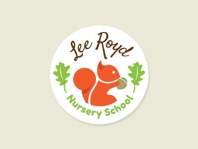 Lee Royd Nursery logo design