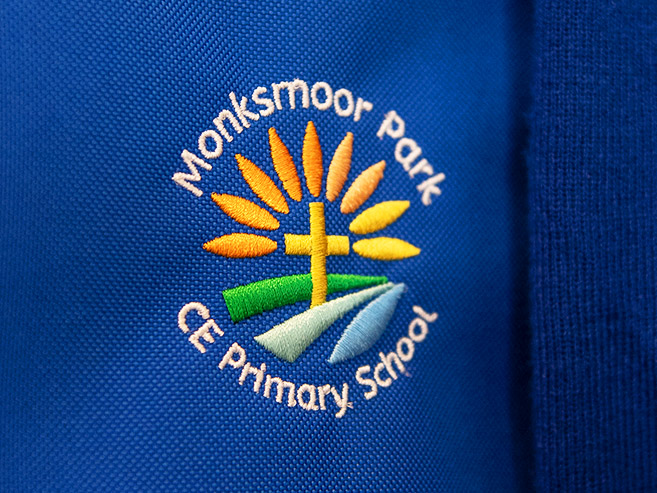 Monksmoor Park Primary School Logo Design