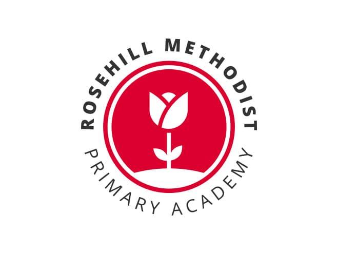 Rosehill primary school logo design