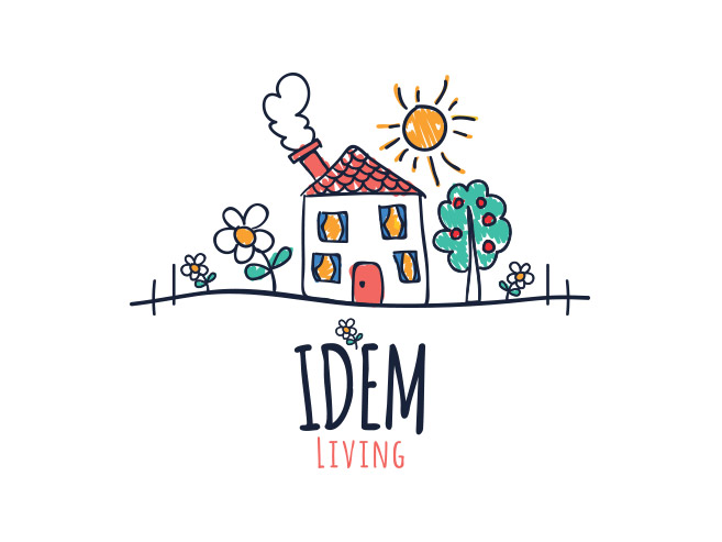 IDEM Living Logo Design