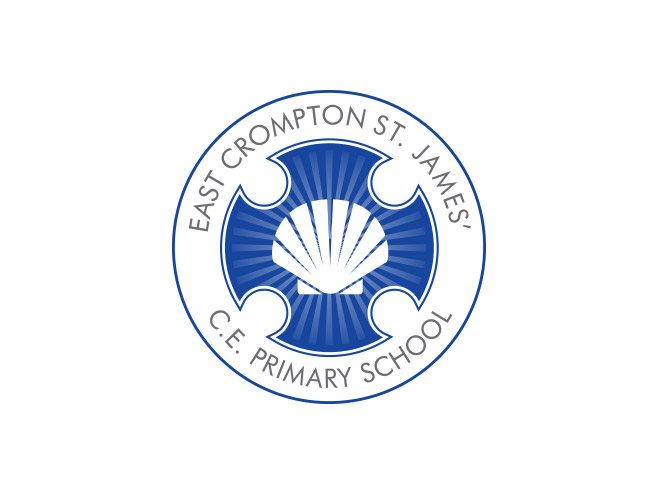 St James East Crompton Primary School Logo Design
