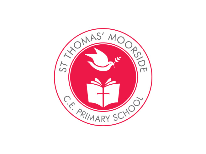 St Thomas Moorside Primary School Logo Design