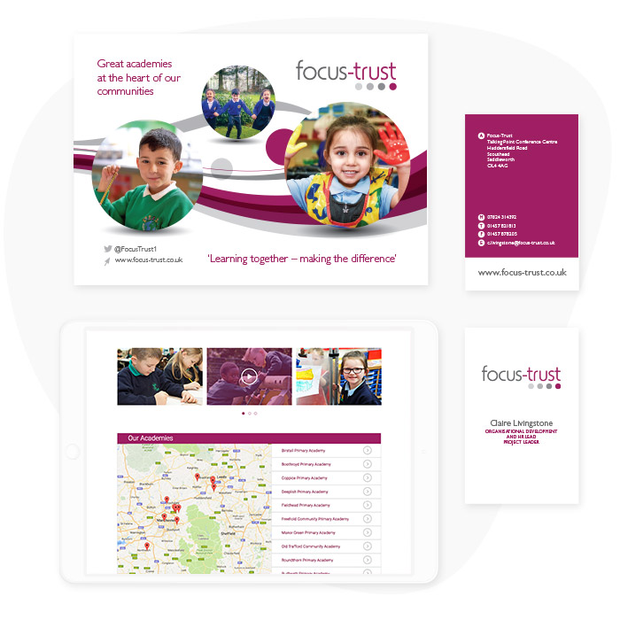 Focus Multi Academy Trust Branding Material
