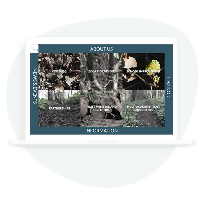 Sola Fide Academy Trust Bespoke Website