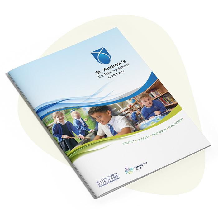 St Andrews- Primary School Prospectus Design