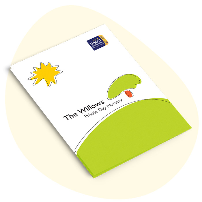 The Willows Nursery Prospectus Front Cover Design